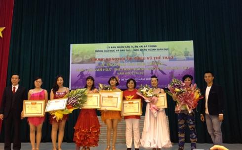 Ngày hội Văn hóa - Thể thao ngành GD&ĐT quận Hai Bà Trưng năm học 2014-2015