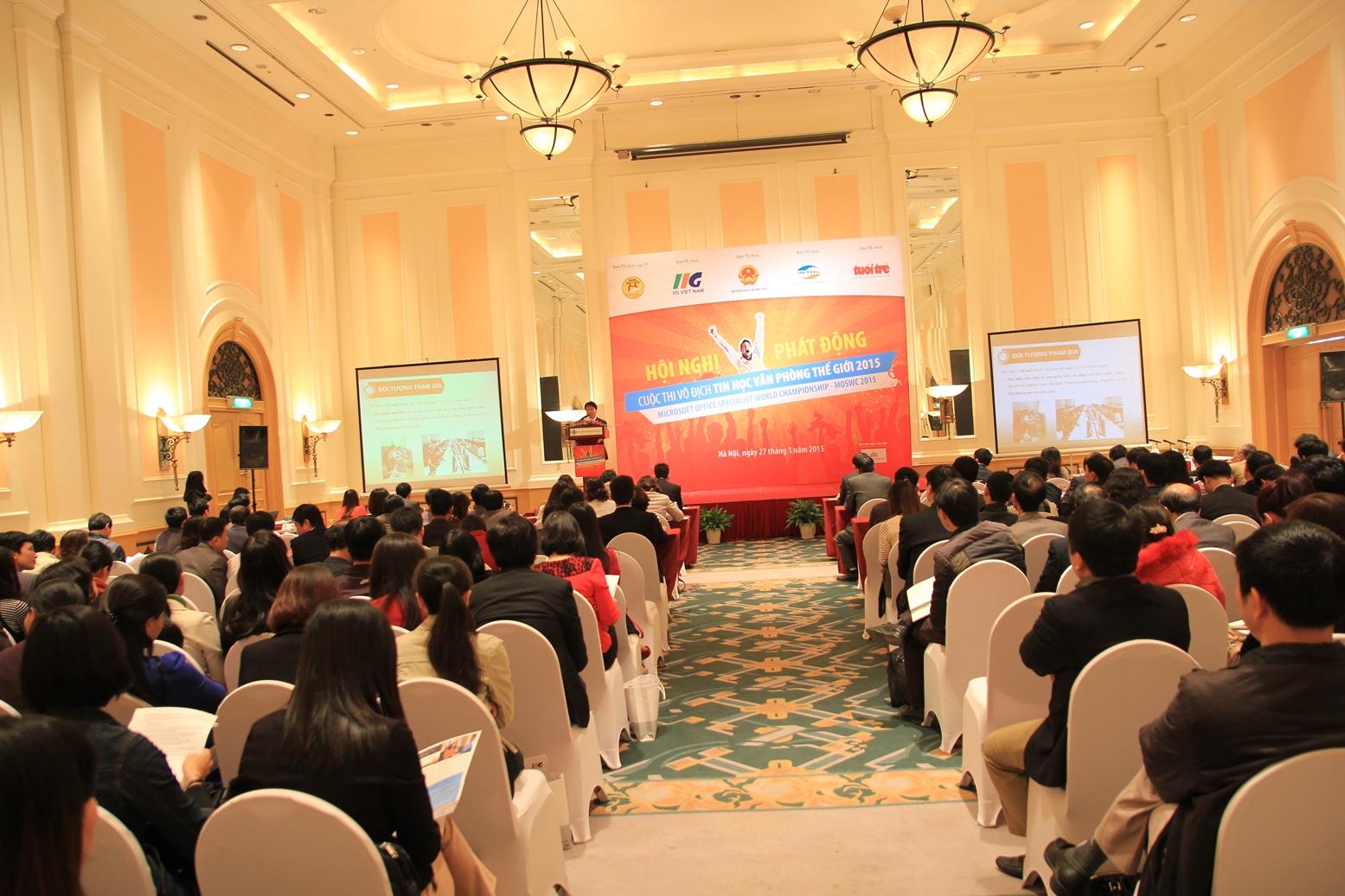 Thông báo thời gian, địa điểm thi tin học văn phòng dành cho học sinh trung học Thành phố Hà Nội năm 2015