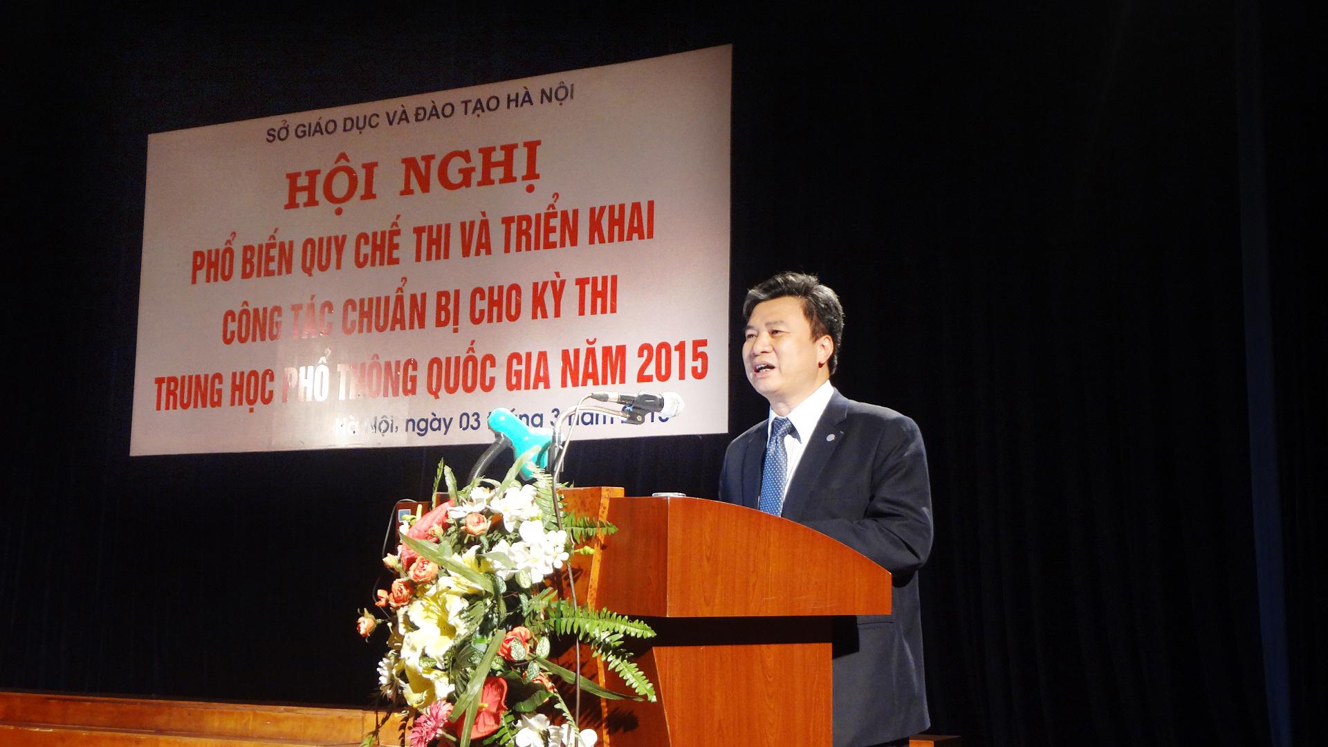 Ngành GD&ĐT Hà Nội phổ biến quy chế thi THPT quốc gia 2015